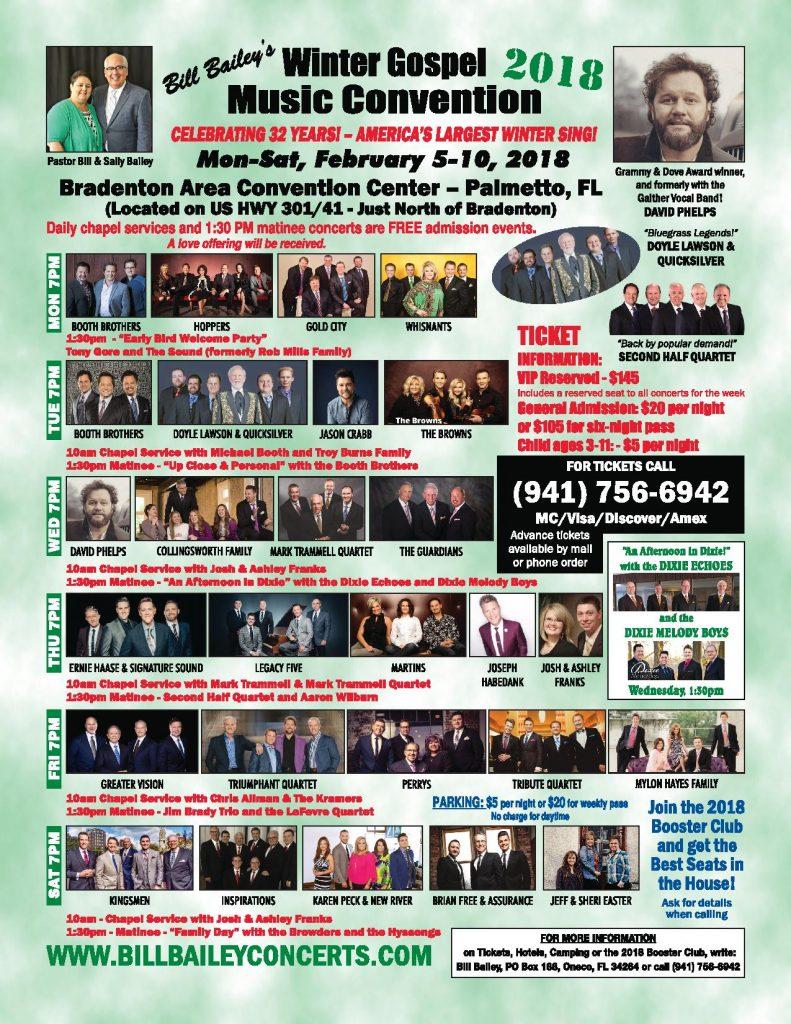 Palmetto, FL @ Bradenton Area Convention Center - 941-756-6942 - 7:00pm